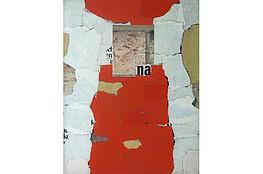 Arthur Kaufmann,  Rücks. sig, 1972, Öl undCollage, 70x56cm,    2.500€