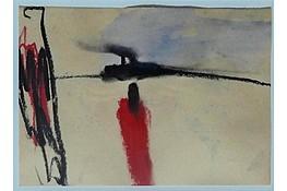 Karl Bohrmann,       Aquarell , 13x20cm,  Nachlass Stempel,   2.200€