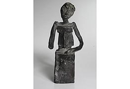Dietrich Klinge, Bronze 8/9 sig.,Höhe 20cm , 950€